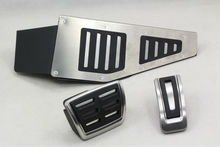 Car accessories Stainless Steel Car Fuel/Brake/Rest Pedal pad for VW GOLF 7 parts 2013 2014 Right drive