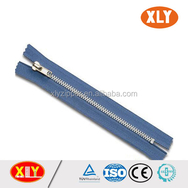 wholesale price close end metal zipper for garments accessories