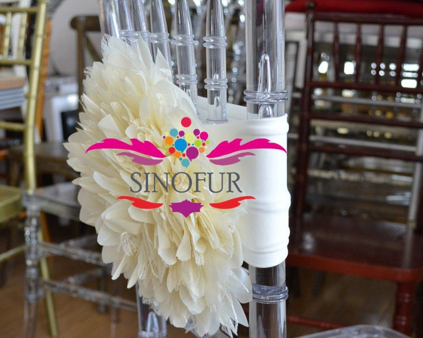 wholesale wedding chair covers cheap flower spandx chair cover