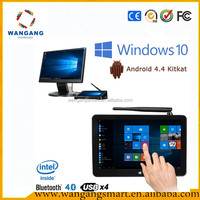 Pipo x9 windows10 & android 4.4 dual OS 8.9inch android mini pc 2gb/32gb android mini pc tv box