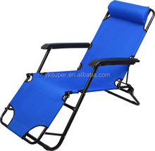 Popular folding beach chair deck chair sun lounger zero gravity chair