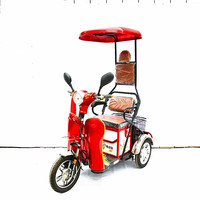 2017 new model electric tricycle for elder 3 wheel passenger bikes