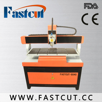 Promoting cnc machine FASTCUT6090 for wood stone trademarks processing