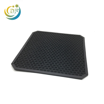 Honeycomb carbon mesh activated charcoal filter mesh sheet