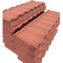 Direct Manufactory Stable Quantity Supply Roman tile for Double Color, Classic Type Metal Roofing