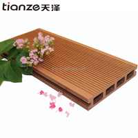 Hollow resisit strong sunshine waterproof balcony exterior wpc flooring