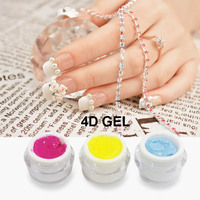 beauty & personal care 3D UV Gel Scupture UV Gel Nail Polish 4D UV Gel, 36 colors available 5g