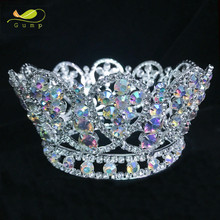 Wholesale Pageant Crowns and Tiaras Princess Crown for Girls