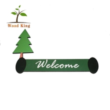 MDF Board Wooden Handicraft Accessories Processing Wooden Christmas Decorations Wood Sign Vintage Signs Decoration
