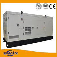 low price soundproof diesel generator set 100kw price of 125kva dynamo generating electricity