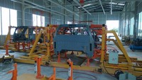 15 to 18 Seat Mini Bus or Middle Bus Assembly Plant Production Line Looking for Local Partners