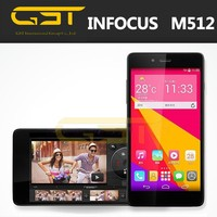 Foxconn Infocus M512 4G LTE Smartphone Quad Core Android 4.4 Mobile Phone 5.0 Inch 1GB RAM 4GB ROM 8MP 4G Cellphone Infocus