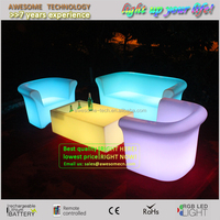Modern Sofa Furniture Night Club Plastic