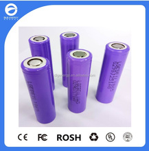 Rechargeable 18650-E1 3100mah lithium ion battery