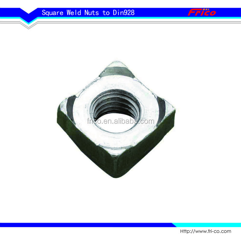 High Quality Din928 Square weld nuts