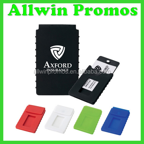 Soft-touch Silicone Business Card Case