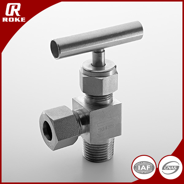hot sales high pressure angle needle valves stainless steel china manufacturer