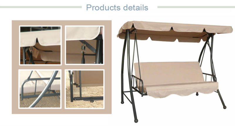 garden swing chair bed adult swing bed free stand swing hammock 3 seater canopy swing bed