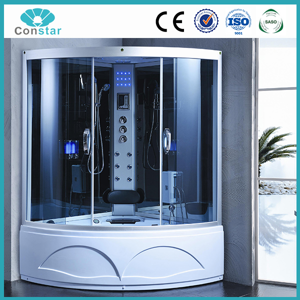 2016 Hangzhou G20 summit big large space water pump massage shower room with cheap price