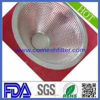 Wire mesh semi ball conical filter top hat(Factory)