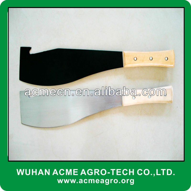 M208 Sugarcane Machete with hook for sale