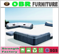 Cheap leisure rattan patio furniture rattan sofa outdoor furniture