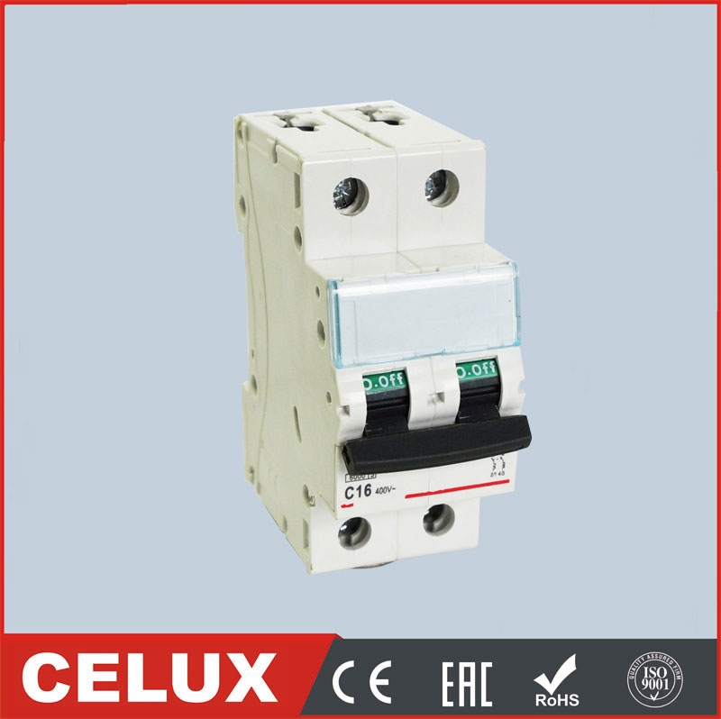 DX-63 new 2P mcb 10 amp miniature circuit breaker 1P 3P 4P 1A to 63A 6KA