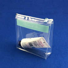 wholesale travel accessories zipper pvc transparent bag