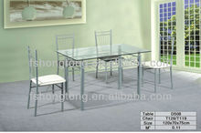 New Design Dining Table and Chair Mobile Home Furniture Cheap dining tables for sale