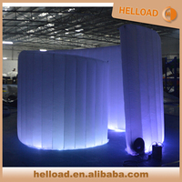 Coloful led inflatable meeting tent,small tent for wedding decoration
