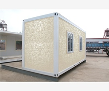 solid beautiful beach side recycle mobile container house