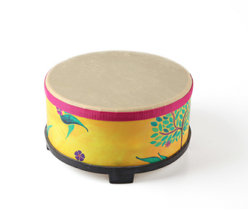 Painting floor drum, OEM customer paint, musical instrument for child