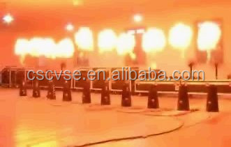 Magic FX stage special effect equipment lpg dmx flame fire machine / factory manufactured / best selling