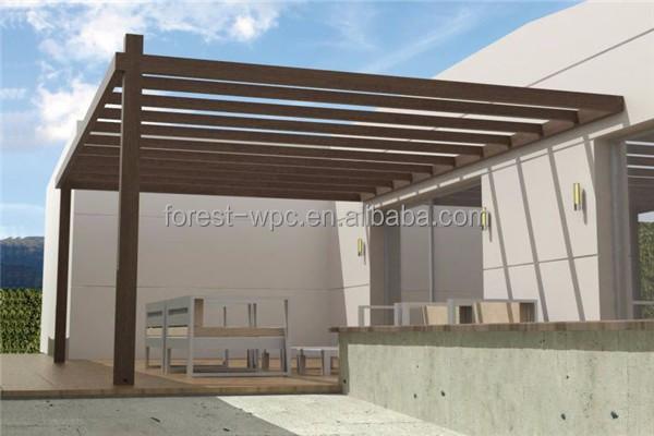 Wpc p rgola jard n mirador de hierro forjado arcos - Pergola de hierro ...