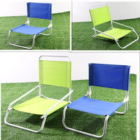 Outdoor furniture portable Folding Low beach chair