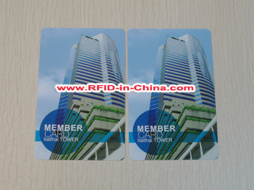 13.56Mhz Smart Colorful RFID How To Use Contactless Card for Business