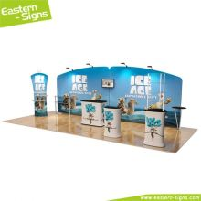 New design aluminum advertising portable foldable special design exhibition booth