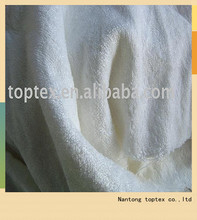 100% bamboo terry fabric