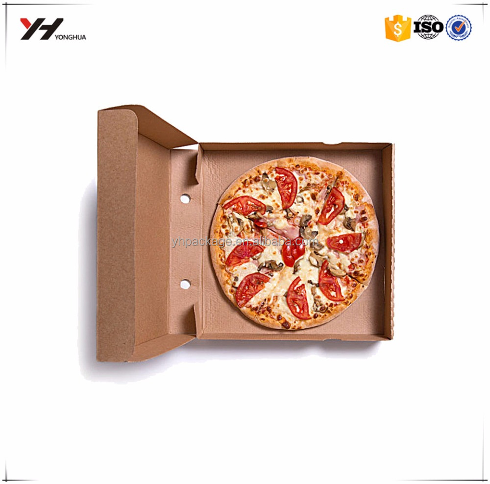 2016 Hangzhou <strong>Custom</strong> Good Quality Packing Kraft Pizza Box