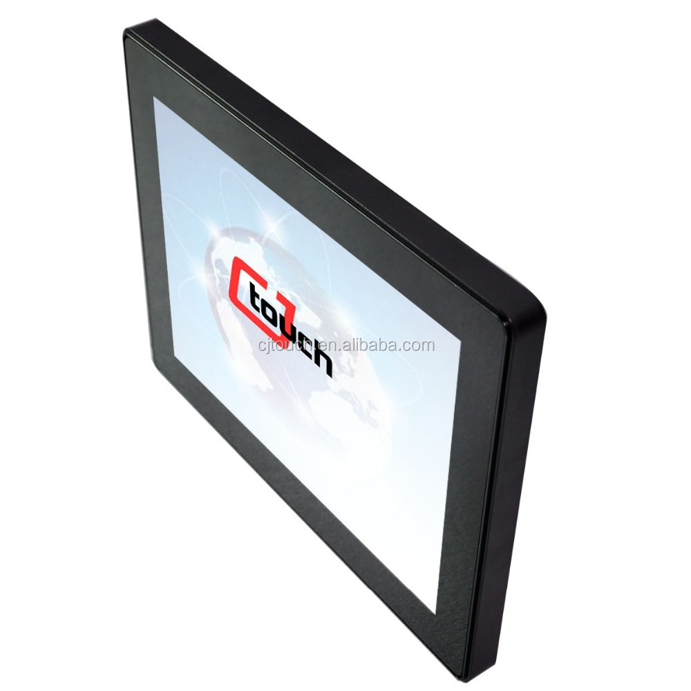 "COT121-CFF02 12.1"" embedded lcd screen kiosk Kalaok Karaoke ATM VGA USB Open Frame 12.1 inch Touch Screen Monitor"