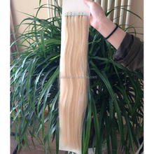 2016 Hot selling products factory direct good feeaback silky straight invisiable tape hair extensions