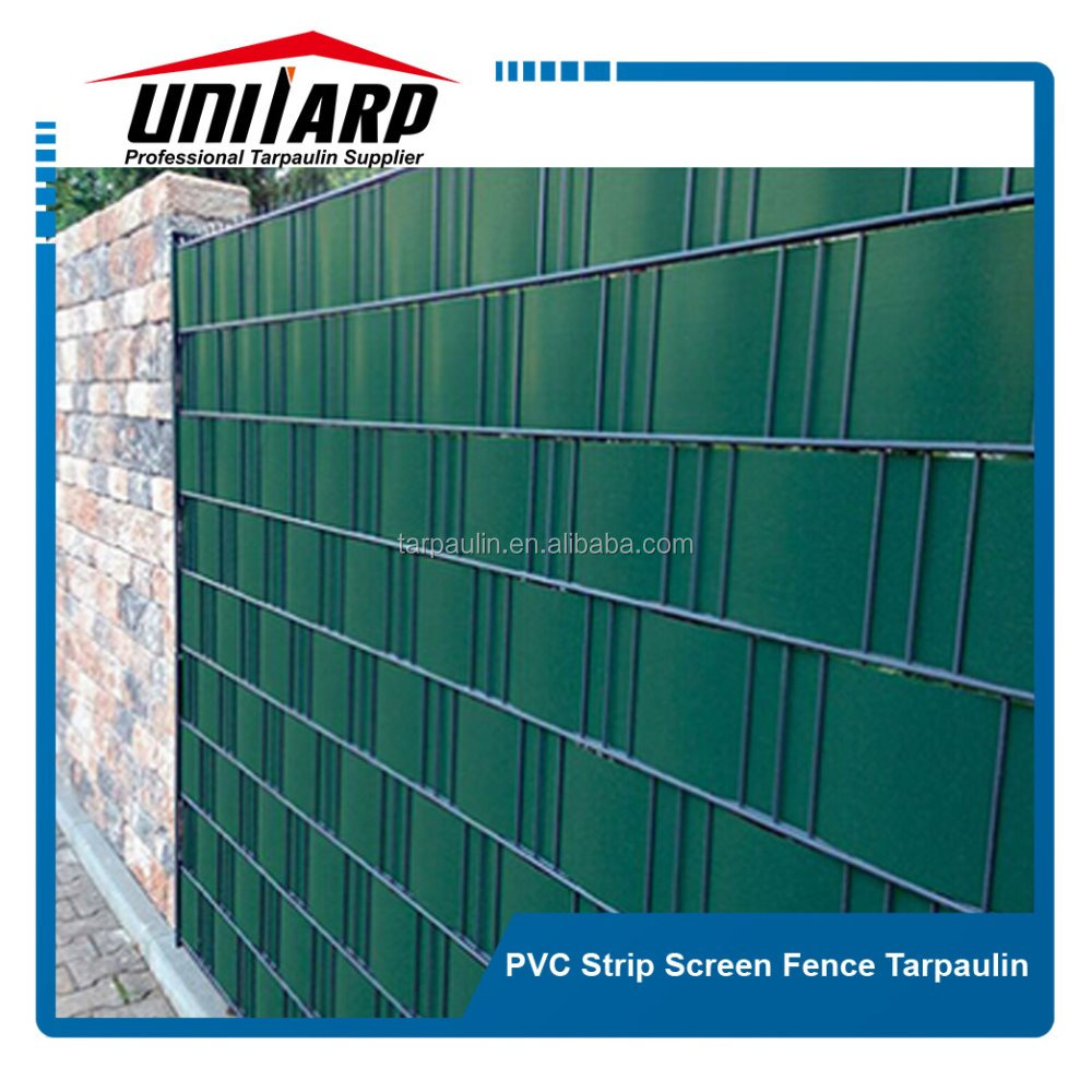 PVC strip fence panels and vinyl coated nylon webbing with good quality