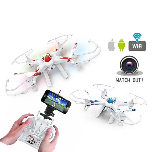 new design 2.4G 4CH 6axis rc FPV wifi smartphone drones toys factories in china with hd camera