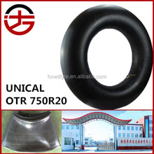wholesale China top quality syuthenric rubber tyre inner tube 750R20 for truck, bus & otr with low price