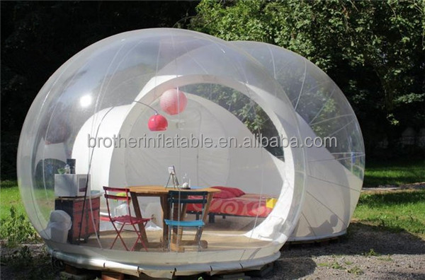 Factory Price Clear Bubble Party Event Tent inflatable advertising Giant Inflatable Tents