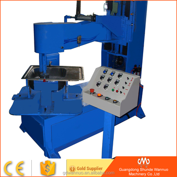 aluminum wheel polishing machine