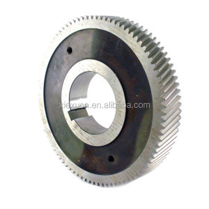 Stainless steel helical spur gear wheel for mechanical parts custom manufacturer