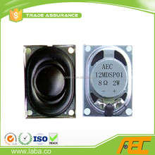 High Performance 20*27MM 2W 8 Ohm Laptop Internal Speaker