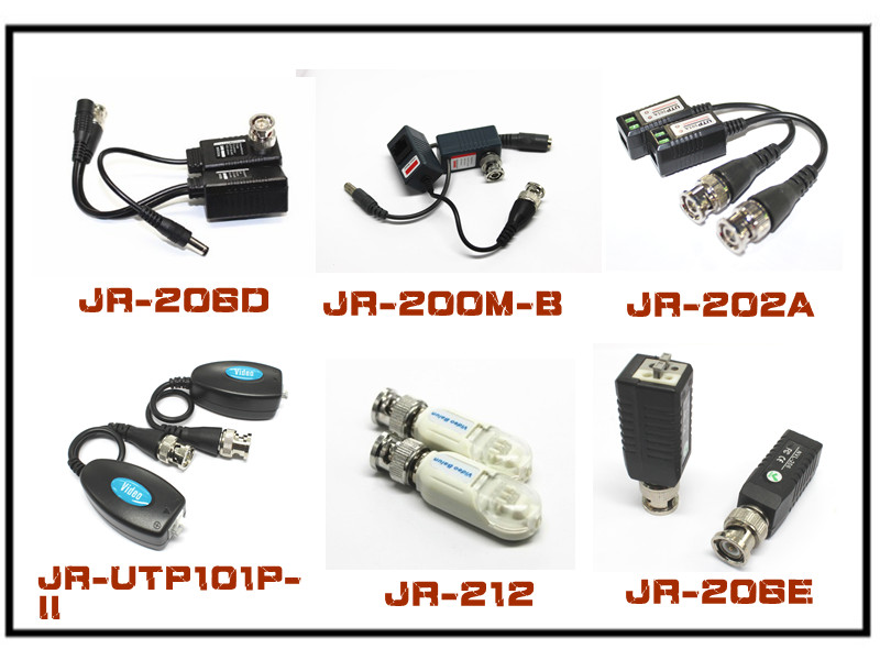 2013 UTP 16 channel passive cat5 video balun with CE for CCTV