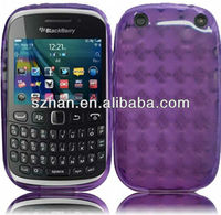 New Diamond Shape TPU Soft back Case for Blackberry Curve 9220 9320
